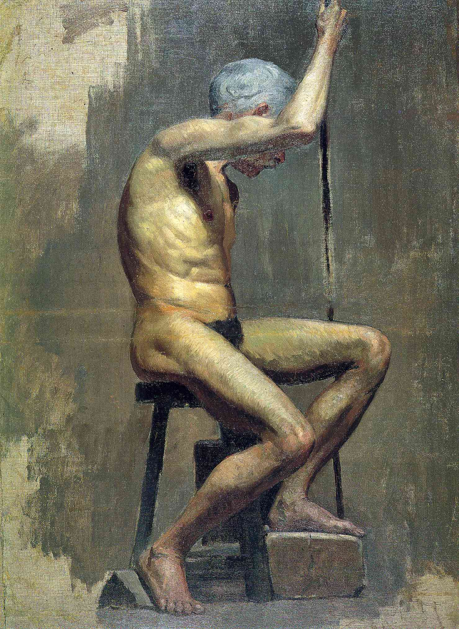 Picasso Academical study 1895