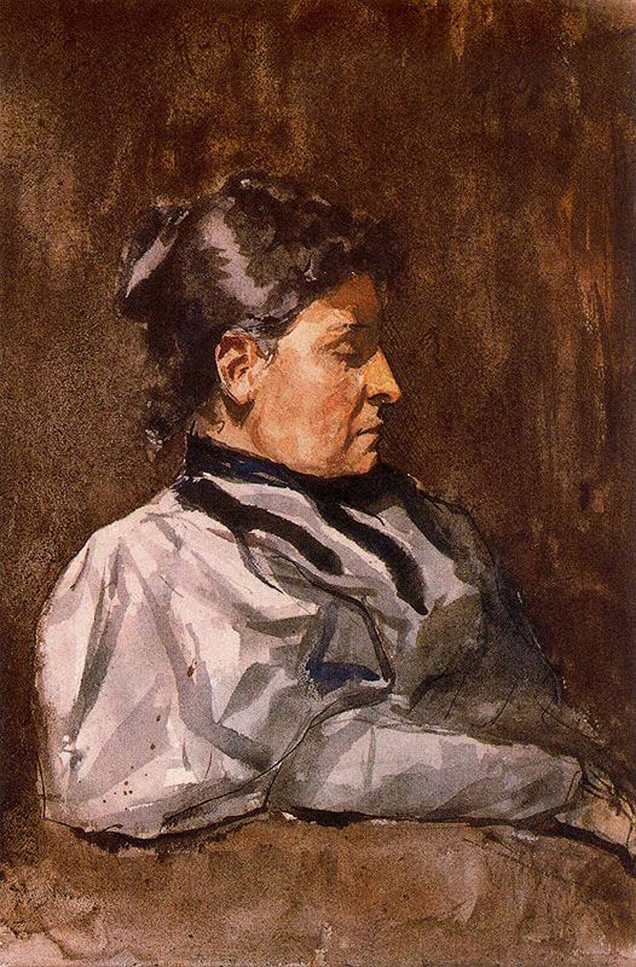 Picasso Artist's mother 1896
