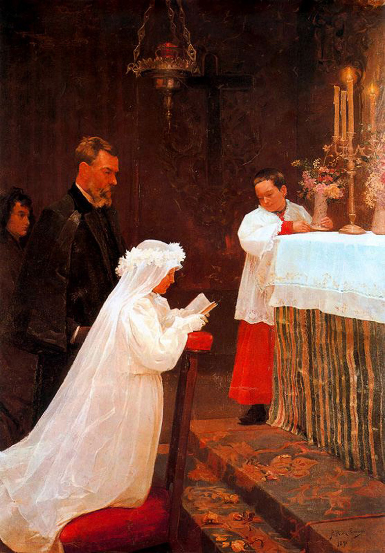 Picasso First Communion 1896
