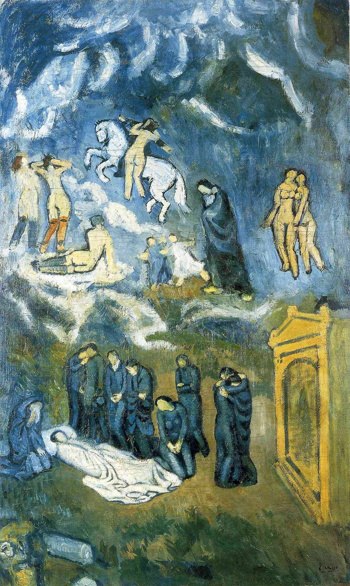 Picasso Evocation. The Burial of Casagemas. 1901