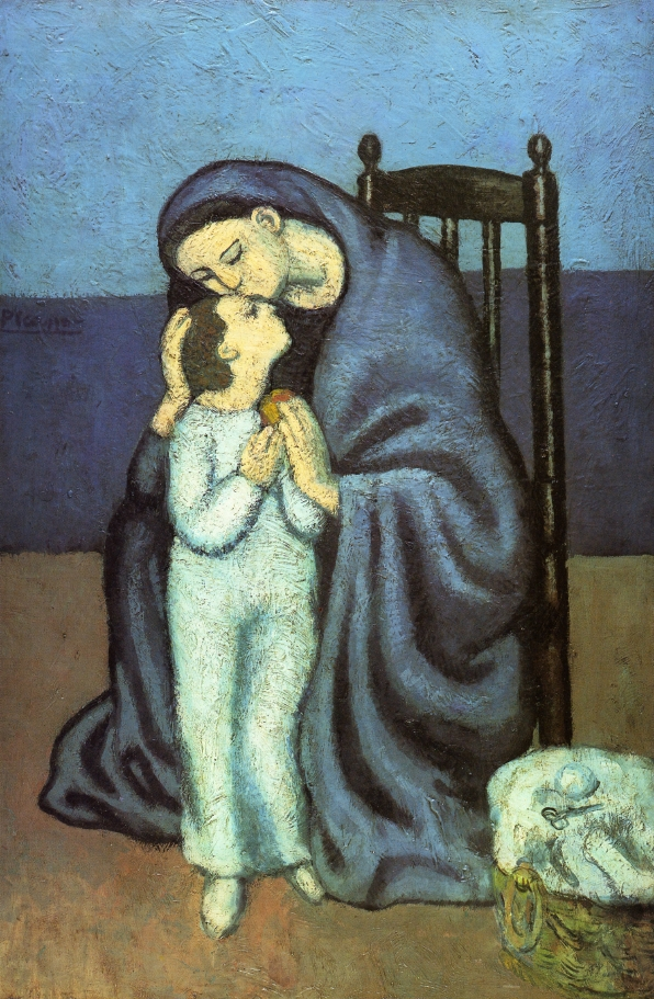 Picasso Motherhood 1901