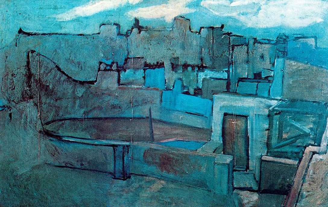 Picasso The roofs of Barcelona 1903