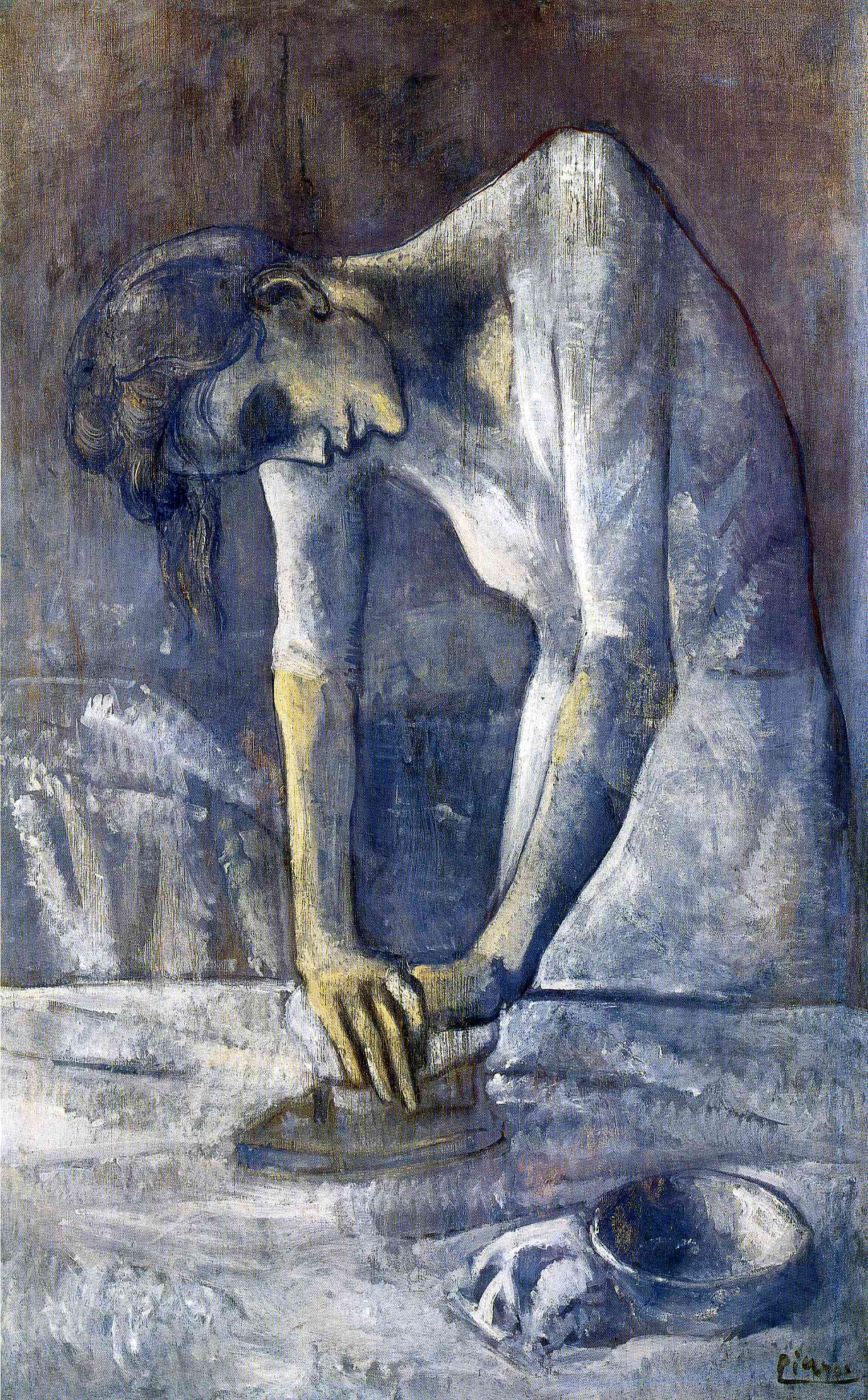 Picasso The ironer 1904