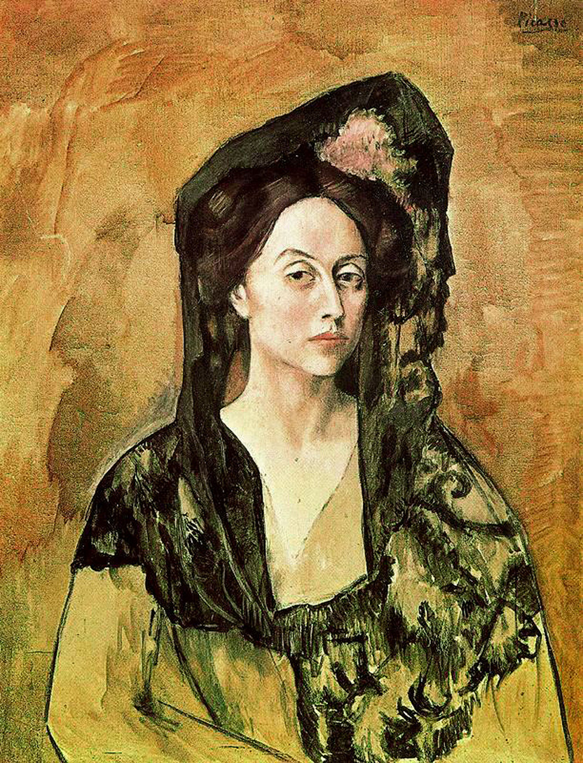 Picasso Portrait of Madame Canals 1905