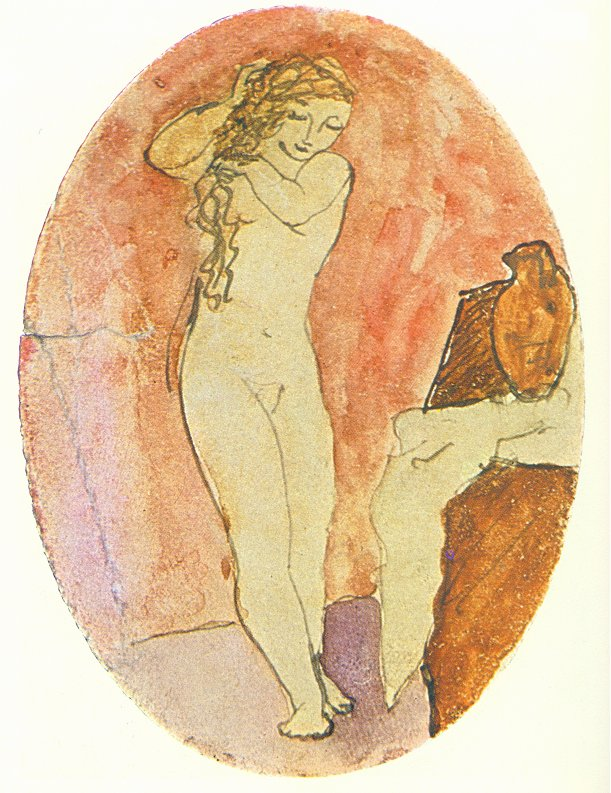 Picasso Nude woman 1906