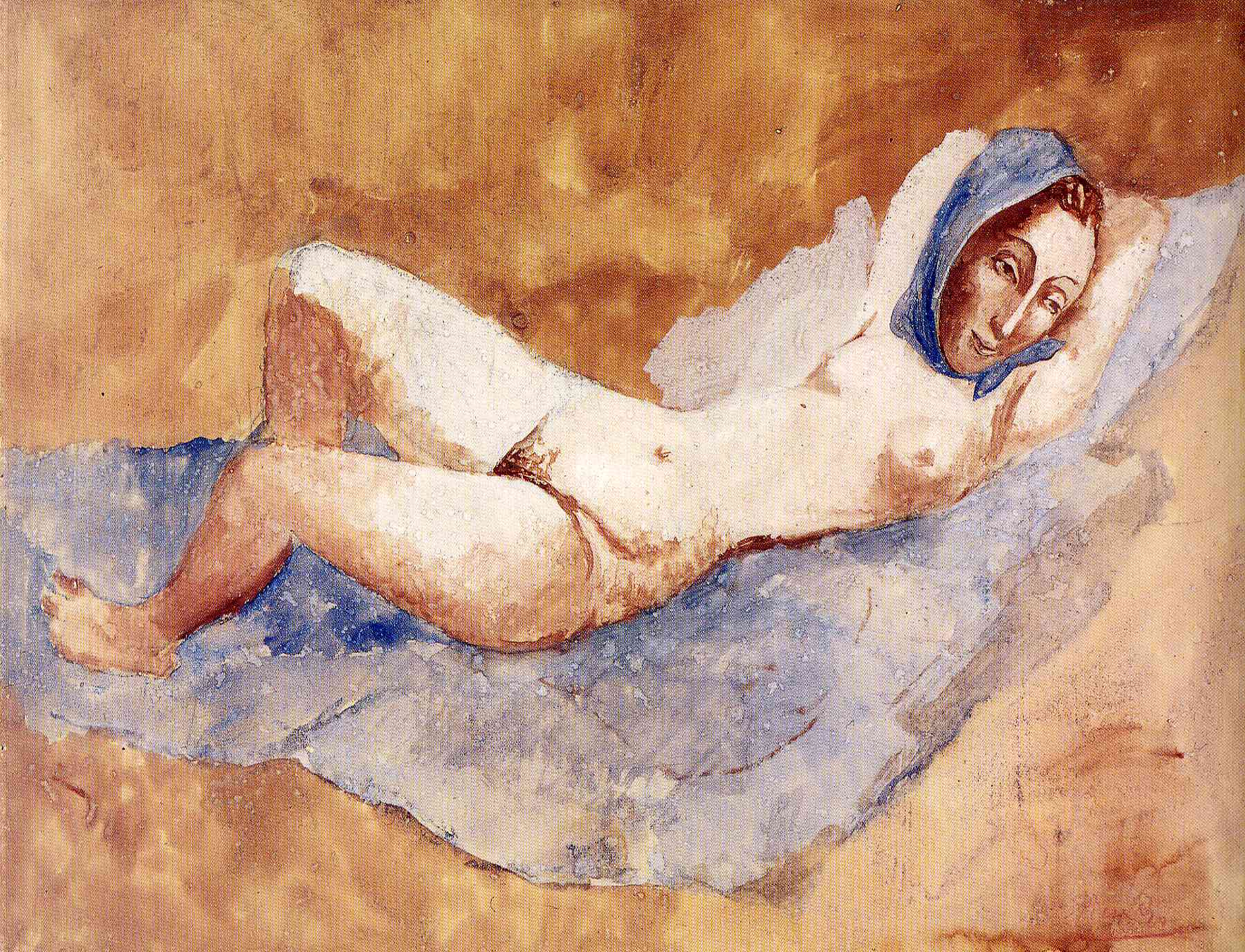 Picasso Reclining Nude. Fernande 1906