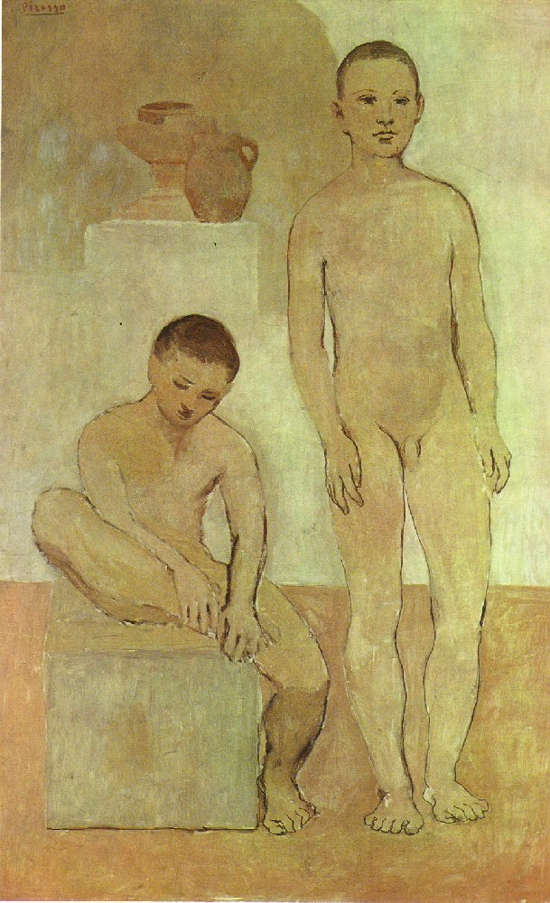 Picasso Teenagers 1906