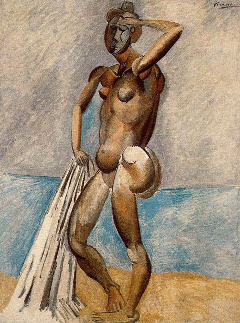 Picasso Bather 1908