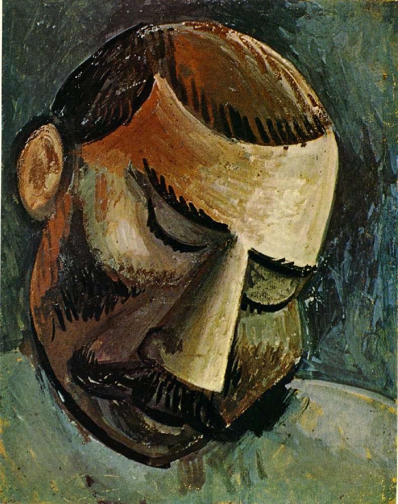 Picasso Head of a man 1908