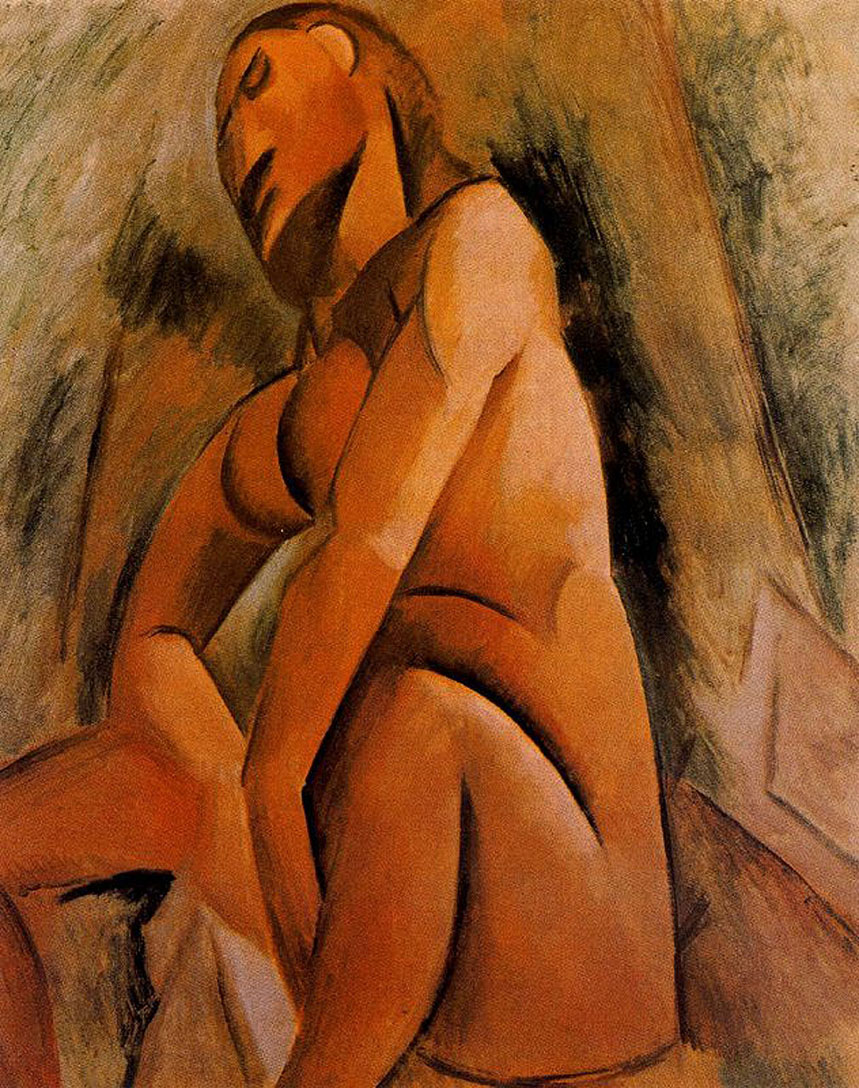 Picasso Seated nude 1908