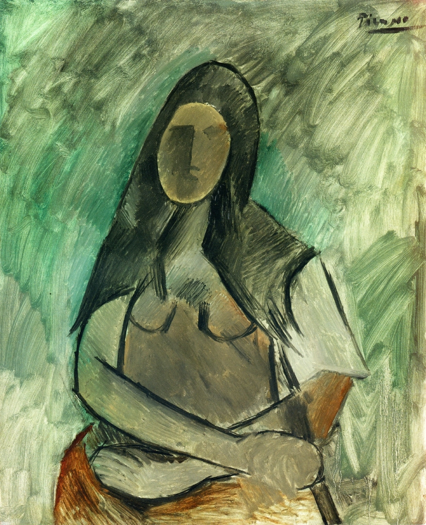 Picasso Seated woman 1909