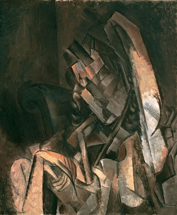 Picasso Woman Sitting in an Armchair 1910