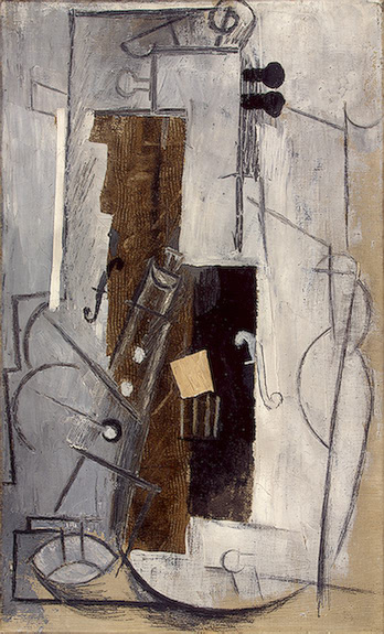 Picasso Clarinet and Violin 1913