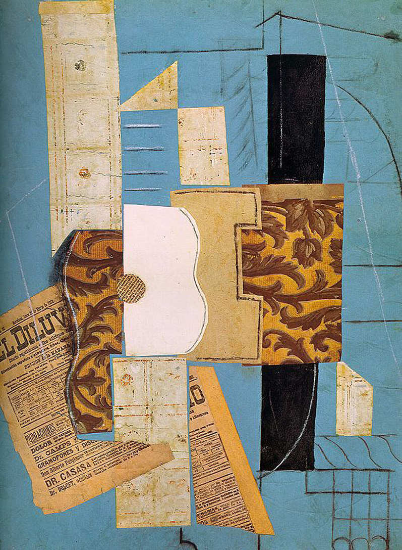 Picasso The guitar 1913