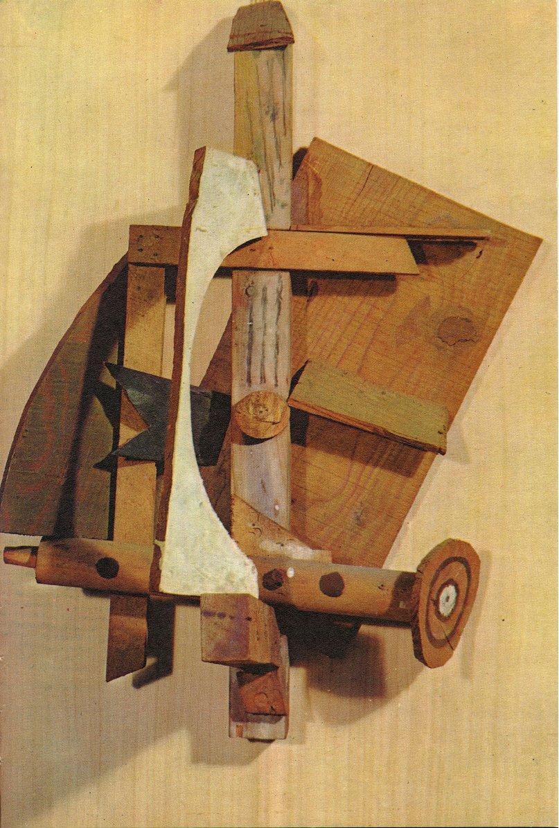 Picasso, Pablo (1881-1973) - 1914 Mandolin and Clarinet ...  |Mandolin And Clarinet Picasso