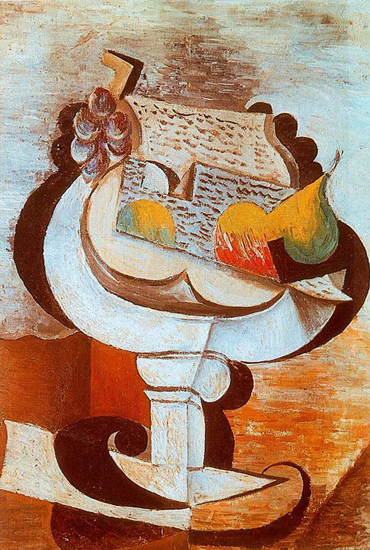 Picasso Fruit dish 1917