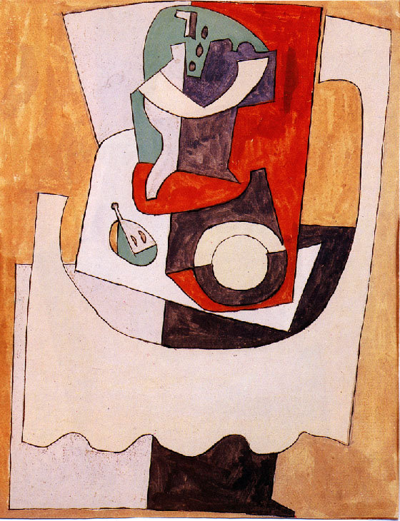 Picasso Still Life with Guitar 1920