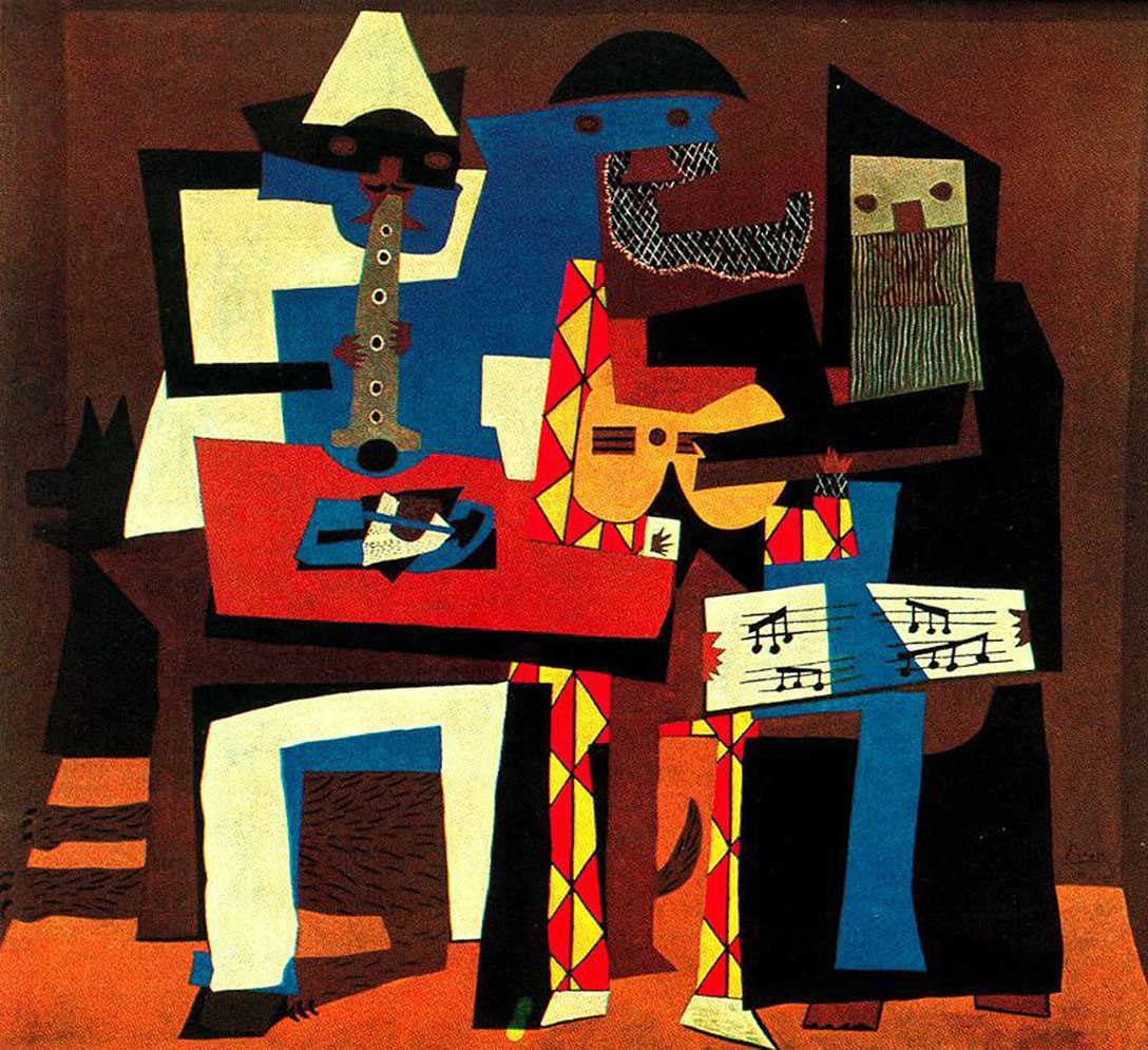 Picasso Musicians with masks 1921