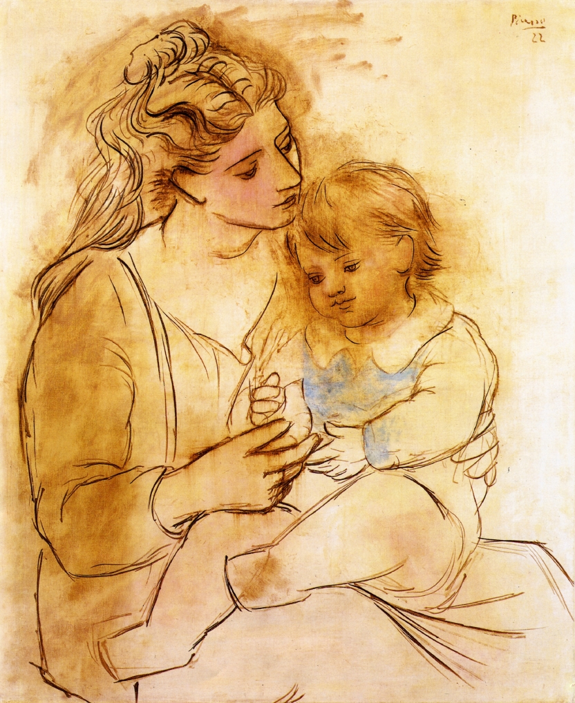Picasso Mother and child 1922