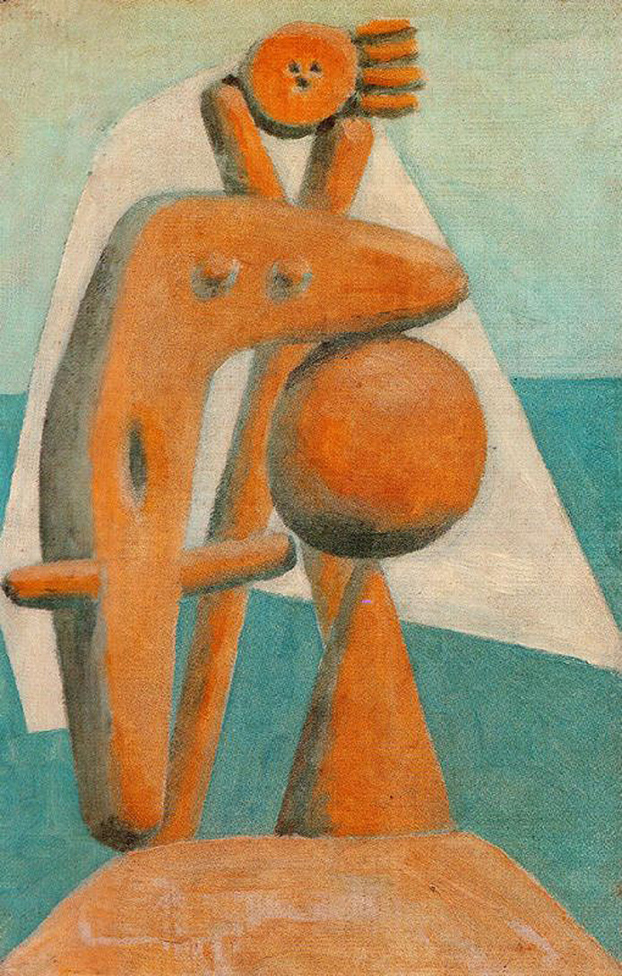 Picasso Seated bather 1930