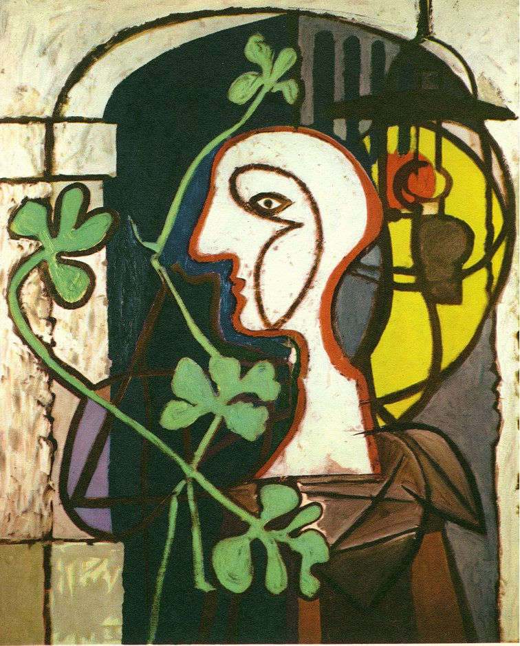Picasso A lamp 1931