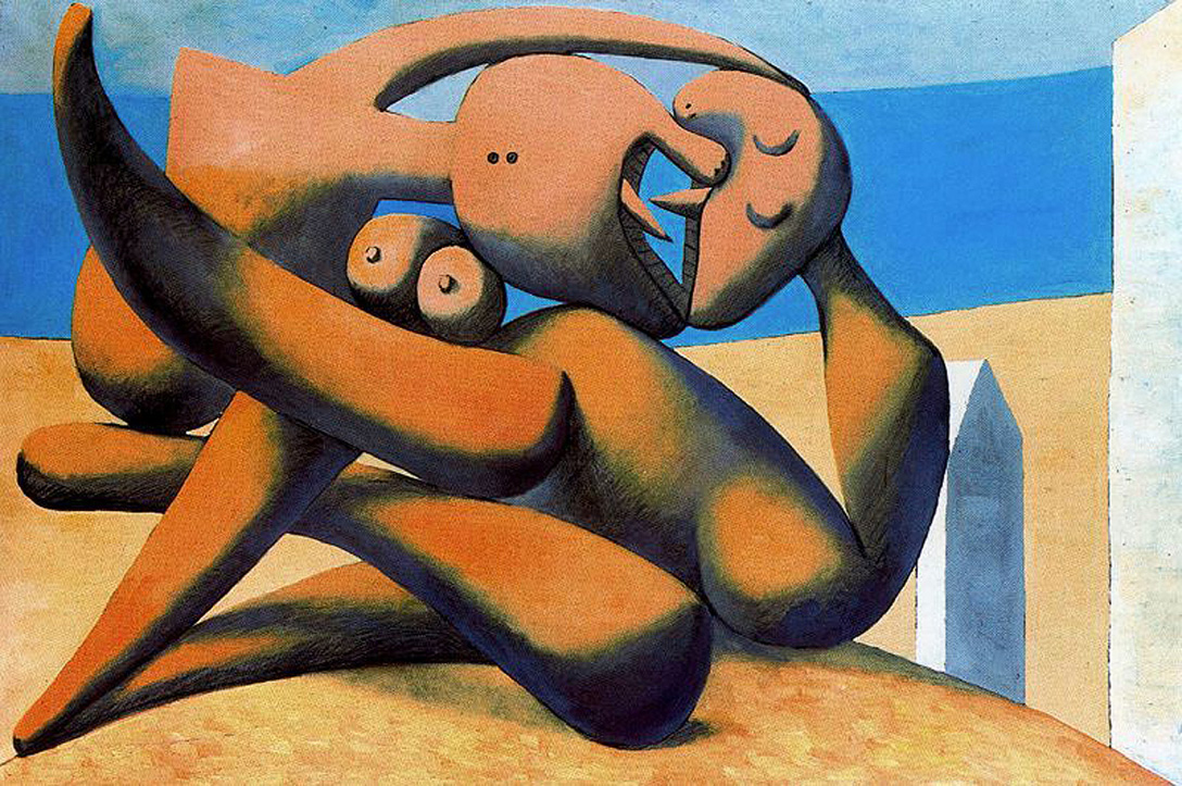 Picasso Figures at the seaside 1931