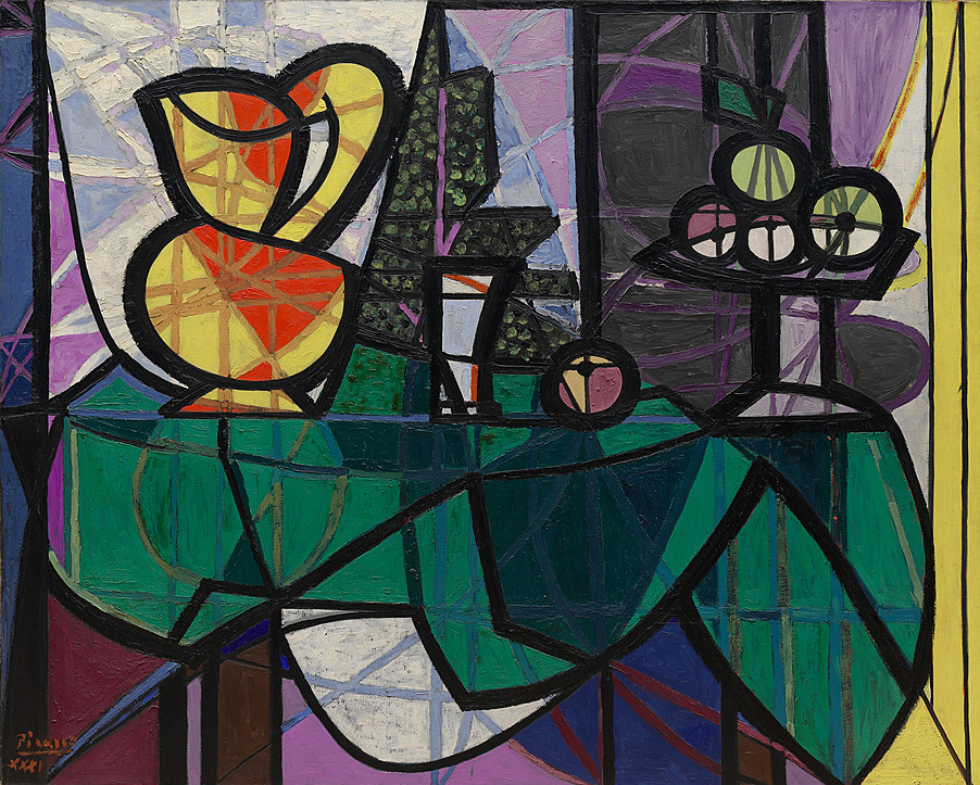 Picasso 1931 Pitcher and Bowl of Fruit