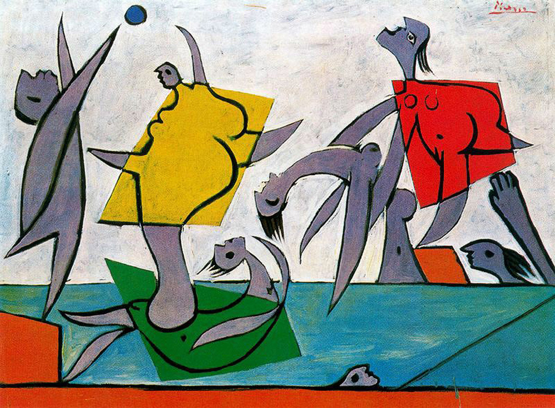 Picasso Beach game and rescue 1932