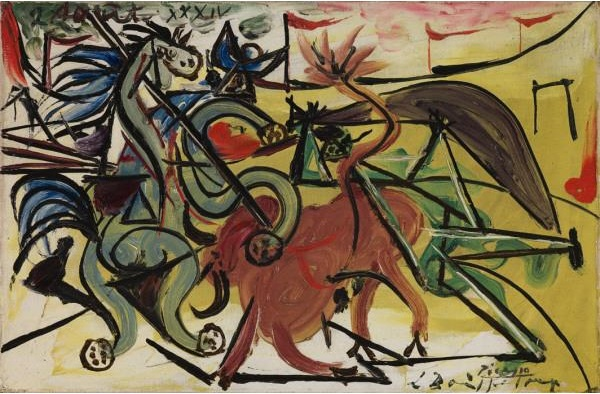 Picasso 1934 The Bull Fight