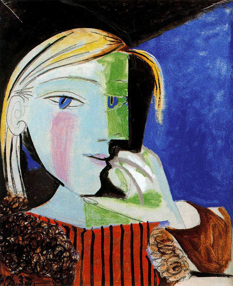 Picasso - Portrait of Marie-Thérèse Walter 1937 in high definition ...