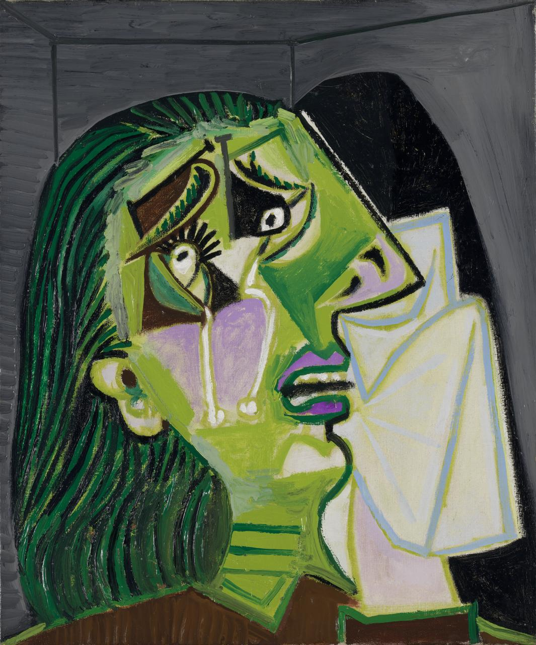Picasso 1937 Weeping woman