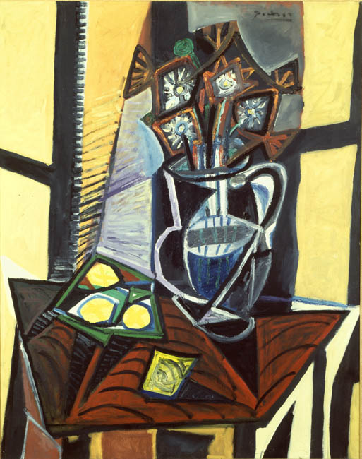 Picasso 1941 Still Life with Flowers and Lemons