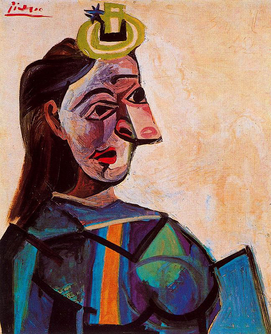 Picasso Bust of a woman 1942