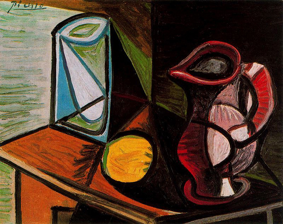 Picasso Glass and pitcher 1944
