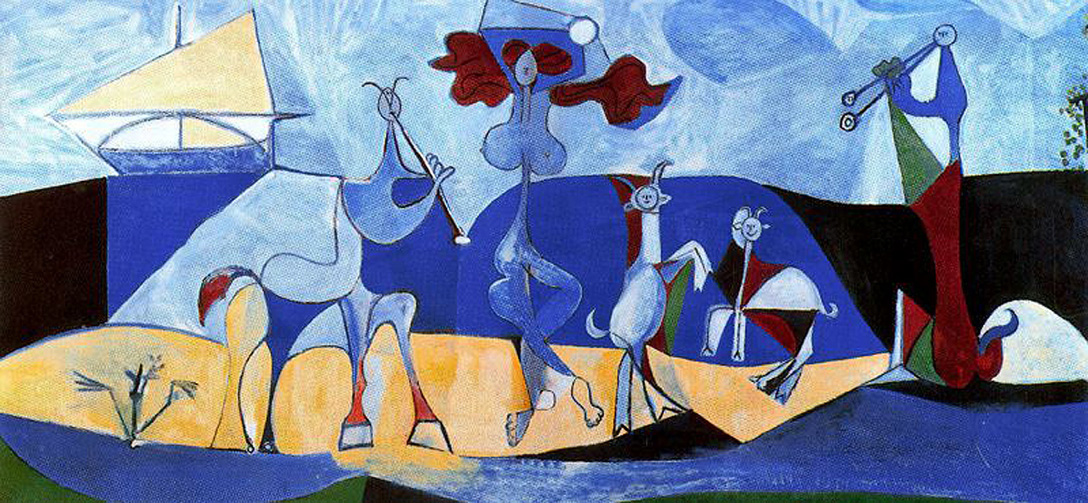 Picasso Lust for life. Pastorale 1946