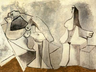 Picasso Two seated women 1958