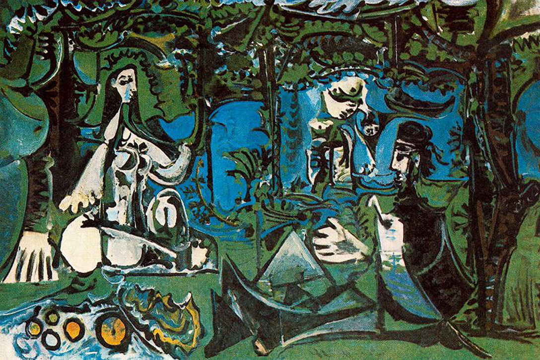 Picasso Luncheon on the grass 1961