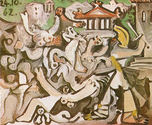 Picasso The Abduction of Sabines 1962