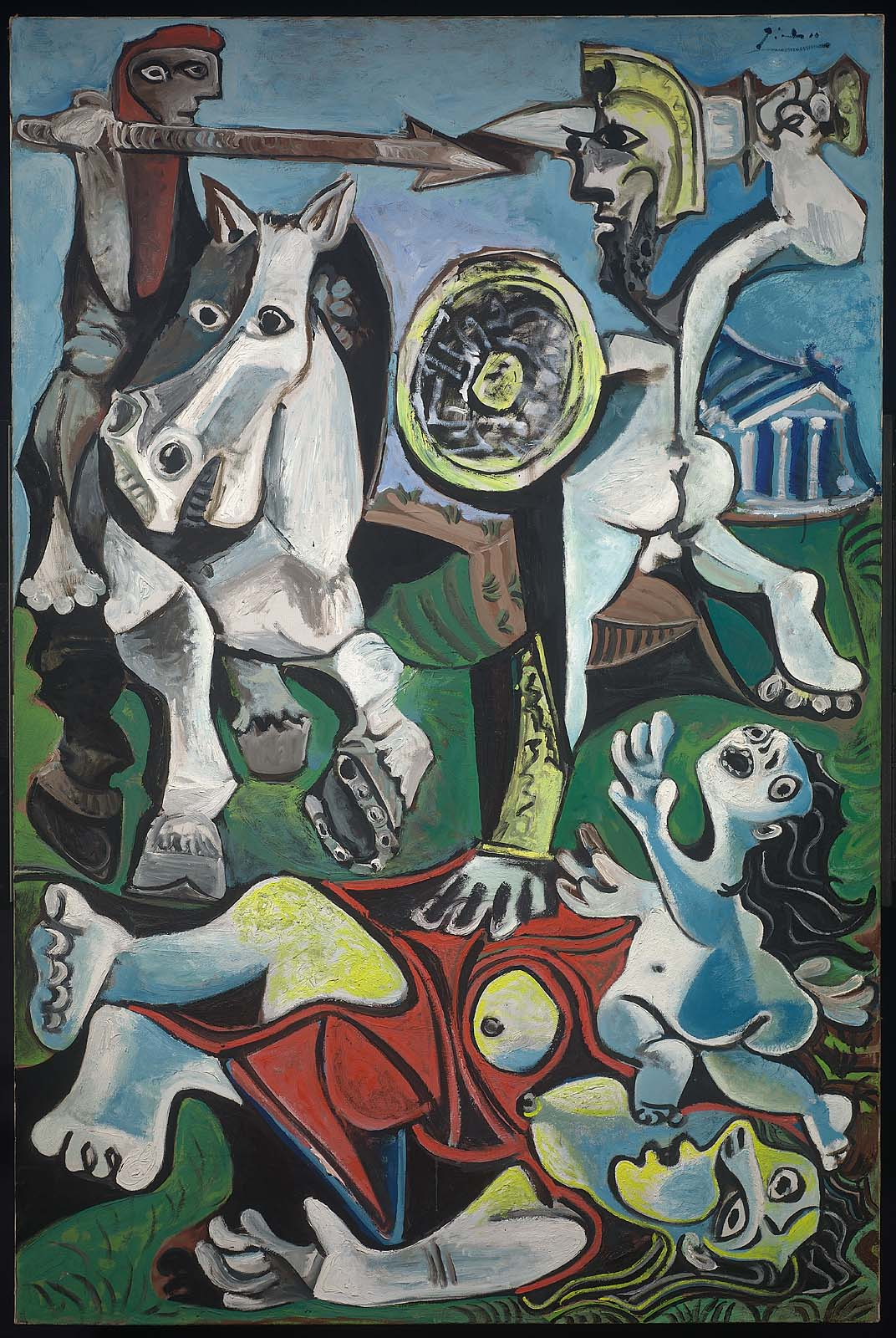 Picasso The Abduction of Sabines 1963