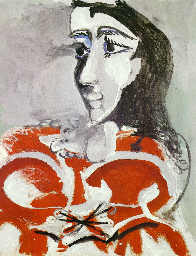 Picasso Bust of woman 1965