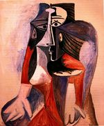 Seated woman. Jacqueline