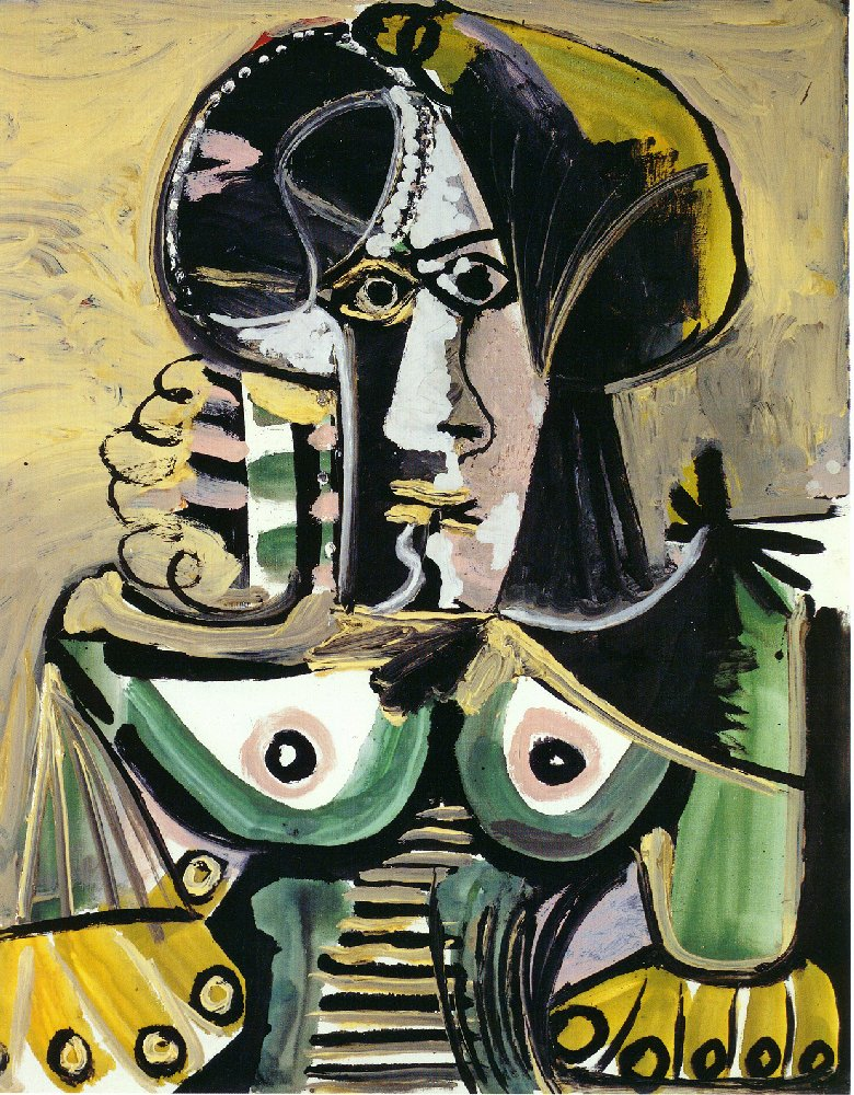 Picasso Bust of woman 1971
