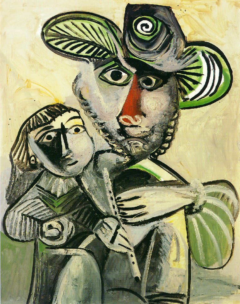 Picasso Paternity 1971